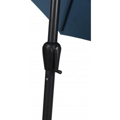 Ombrellone da Giardino 3 metri Blu Outfit 48934