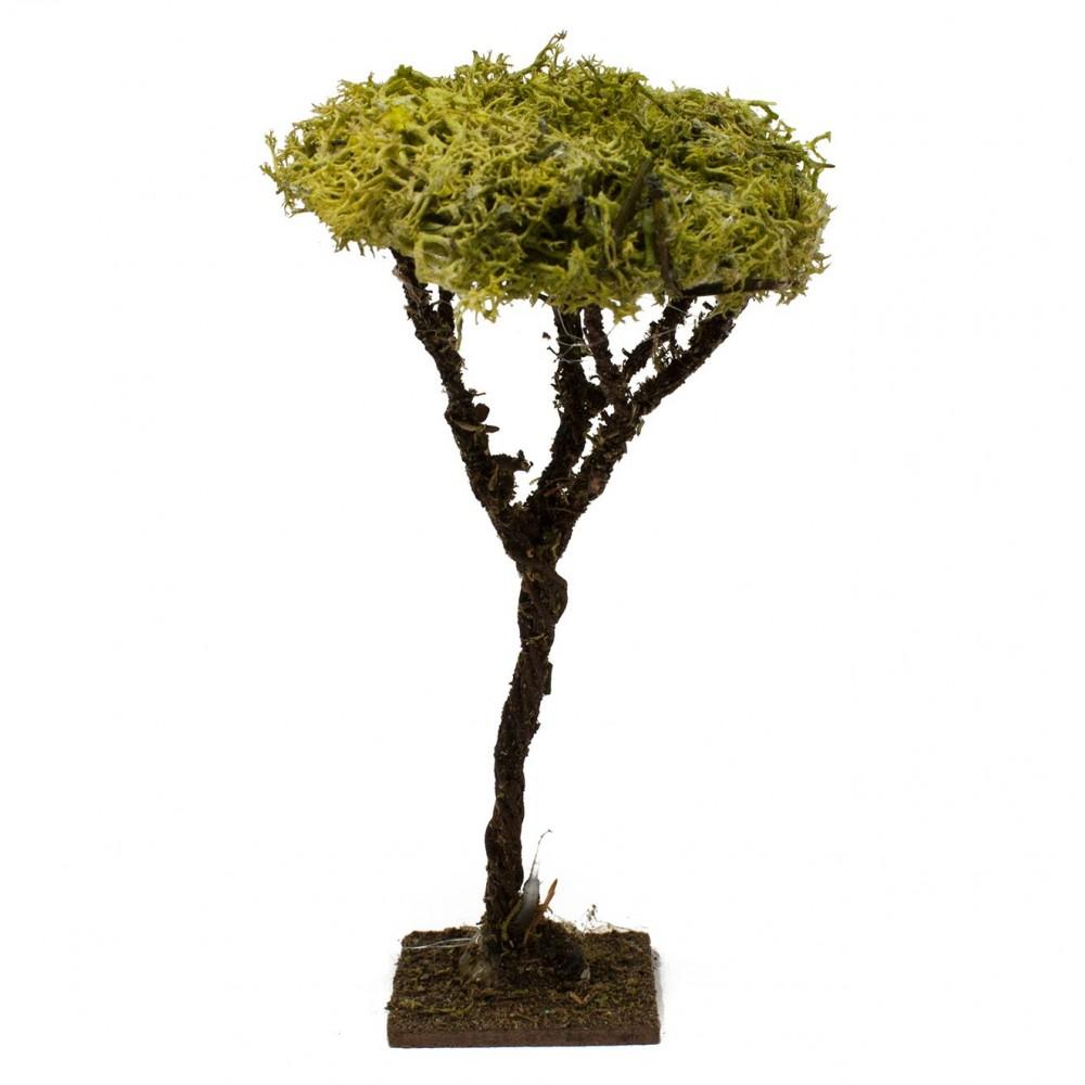Albero Lichene h 13 cm Miniature Alberi per Presepe