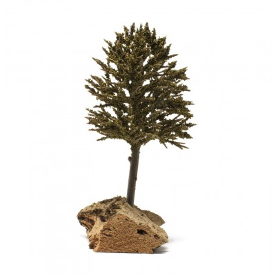 albero-verde-57412-base-in-sughero-miniature-presepe