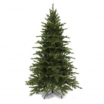 Albero di Natale Artificiale Bristol 210 cm con rametti in PE e PVC