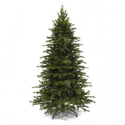 Albero di Natale Artificiale Bristol 240 cm con rametti in PE e PVC