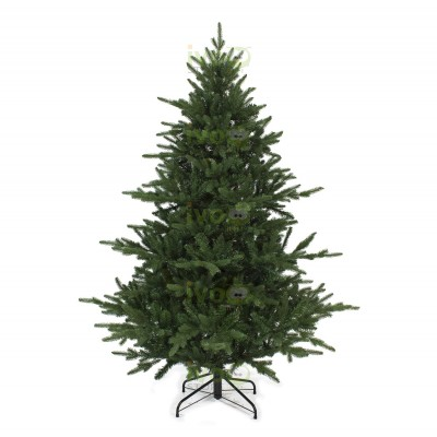 Albero di Natale TRENTINO 180 cm Abete con Rami PE + PVC Effetto Reale