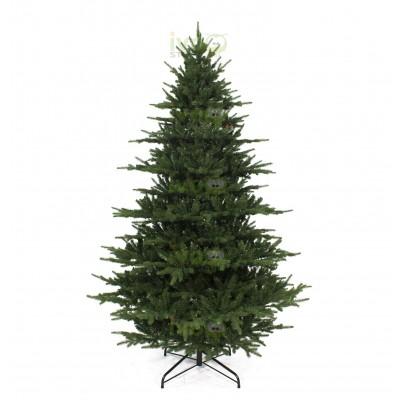 Albero di Natale TRENTINO 240 cm Abete con Rami in PE+PVC Effetto Reale