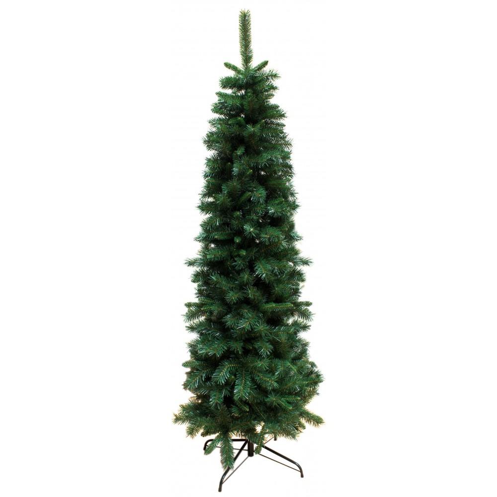 Albero Di Natale 210.Albero Di Natale Slim 210 Cm Abete Ecologico 47508 Ivostore
