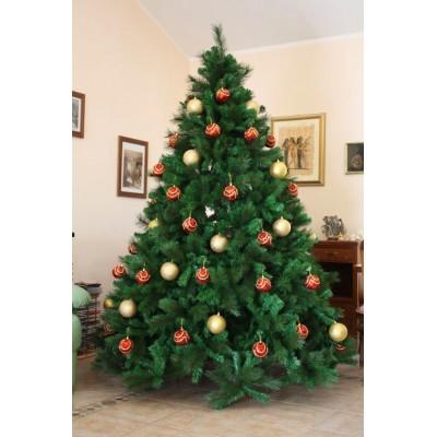 Foto Di Natale Albero.Albero Di Natale Monte Rosa Lusso 420 Cm Abete Ecologico 47527