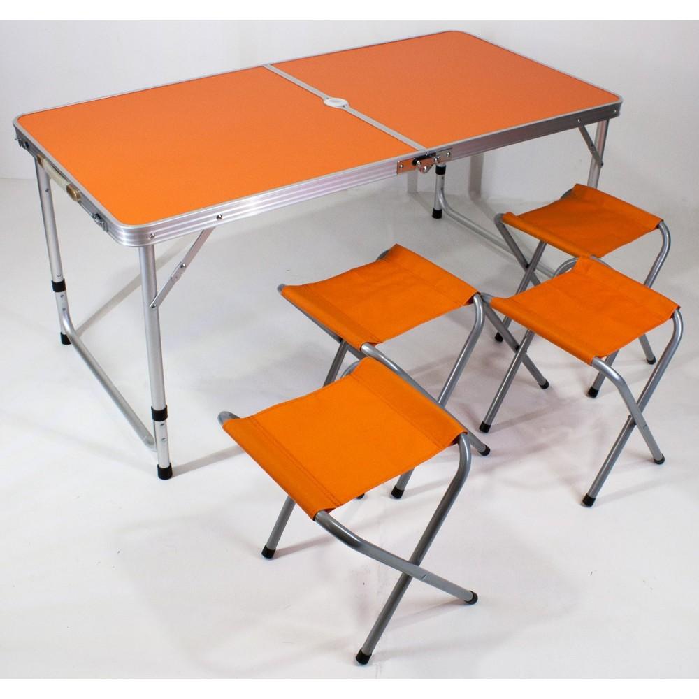 Tavolo Da Campeggio Alluminio.Tavolino Campeggio Pic Nic 120 X 60 Cm H 70 Cm Richiudibile E