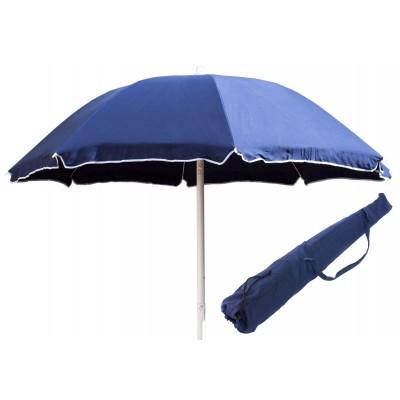 Ombrellone Spiaggia con palo in ferro 200 cm copertura in cotone 100%