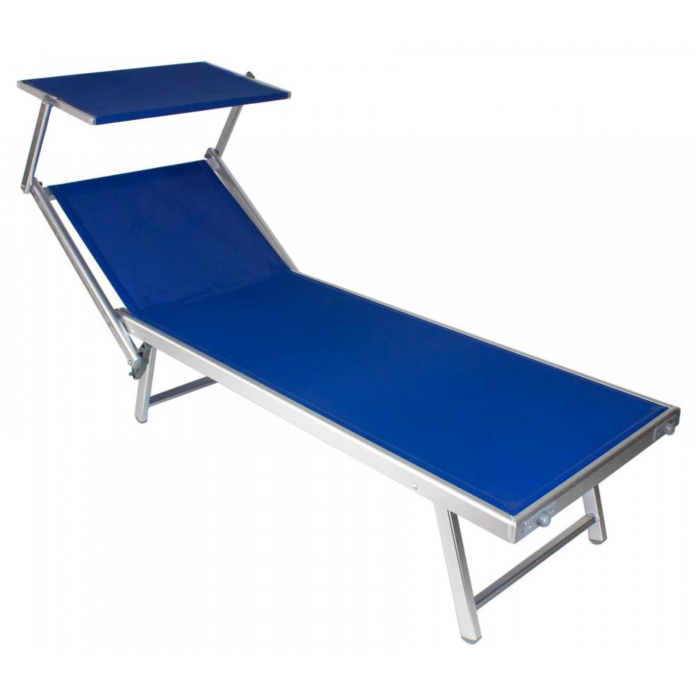 Lettini Da Spiaggia Alluminio.Lettino Mare In Alluminio Prendisole Sdraio Lido Ivo Store