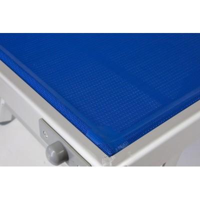 Lettino da spiaggia mare in alluminio prendisole sdraio lido ivo store - Lettino piscina alluminio ...
