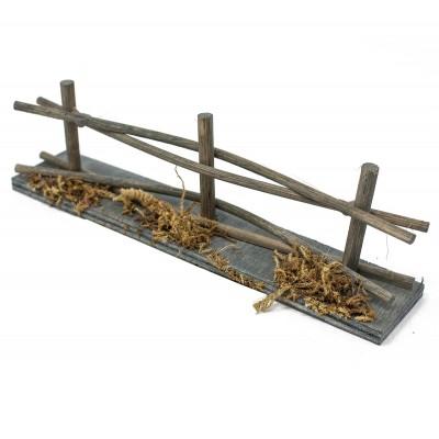 Miniatura di uno steccato 15 cm per presepe