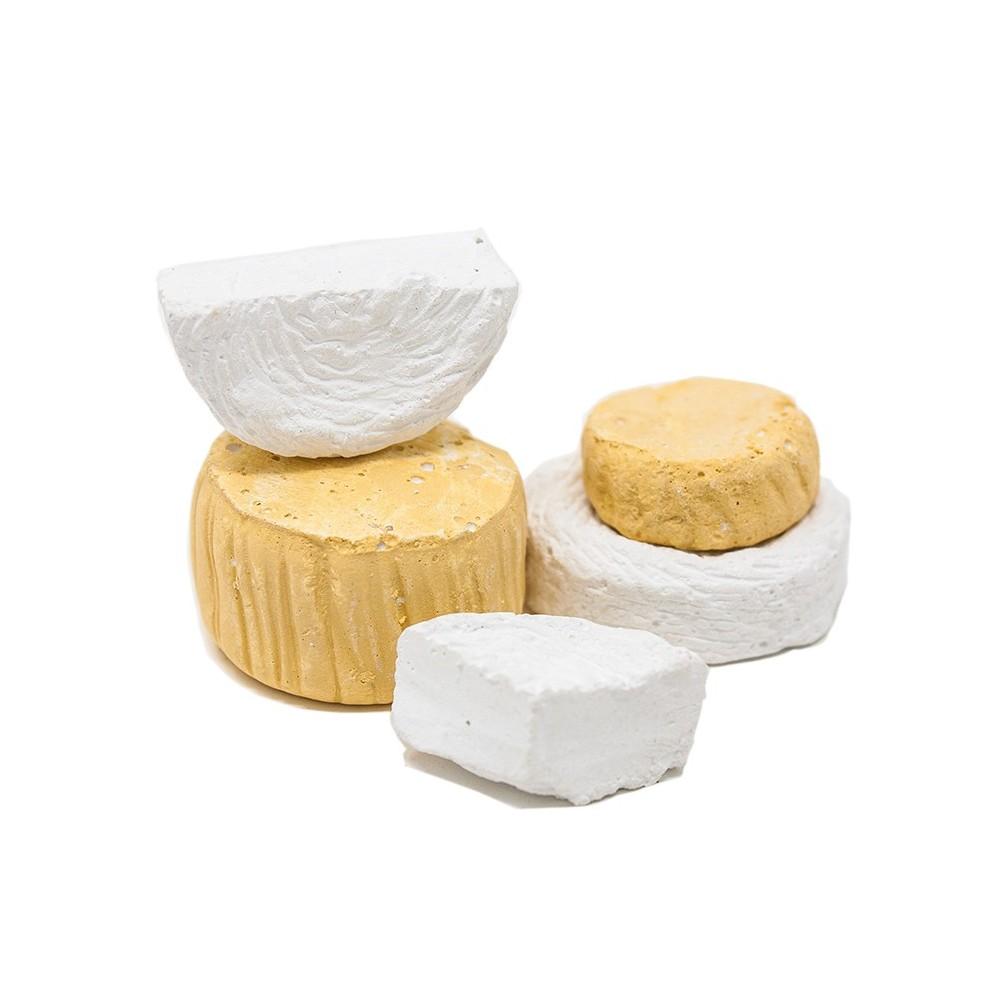 Miniatura di 5 formaggi per presepe