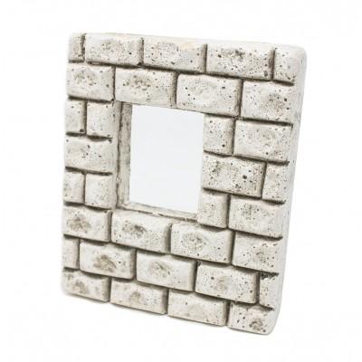 miniatura di una parete in gesso con finestra 10 cm