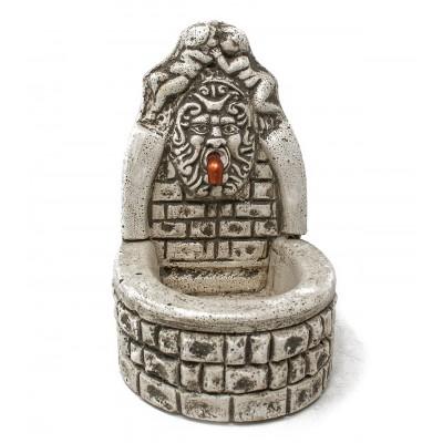 Fontana in gesso per presepe
