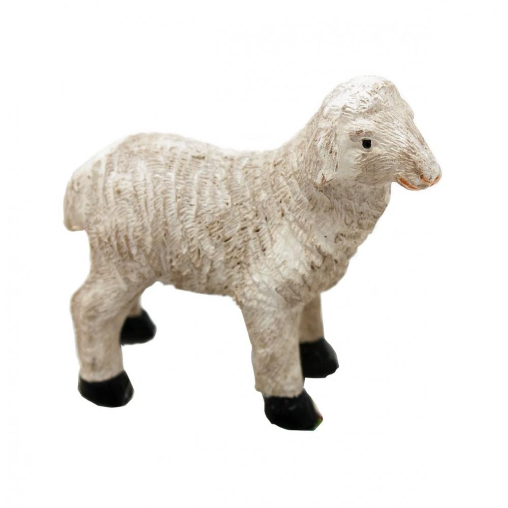 Pecorella in piedi per presepe 4 cm