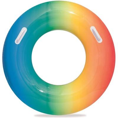 Ciambella colorata rainbow 91 cm