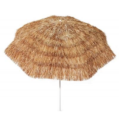 Ombrellone in rafia Tropicale 200 cm