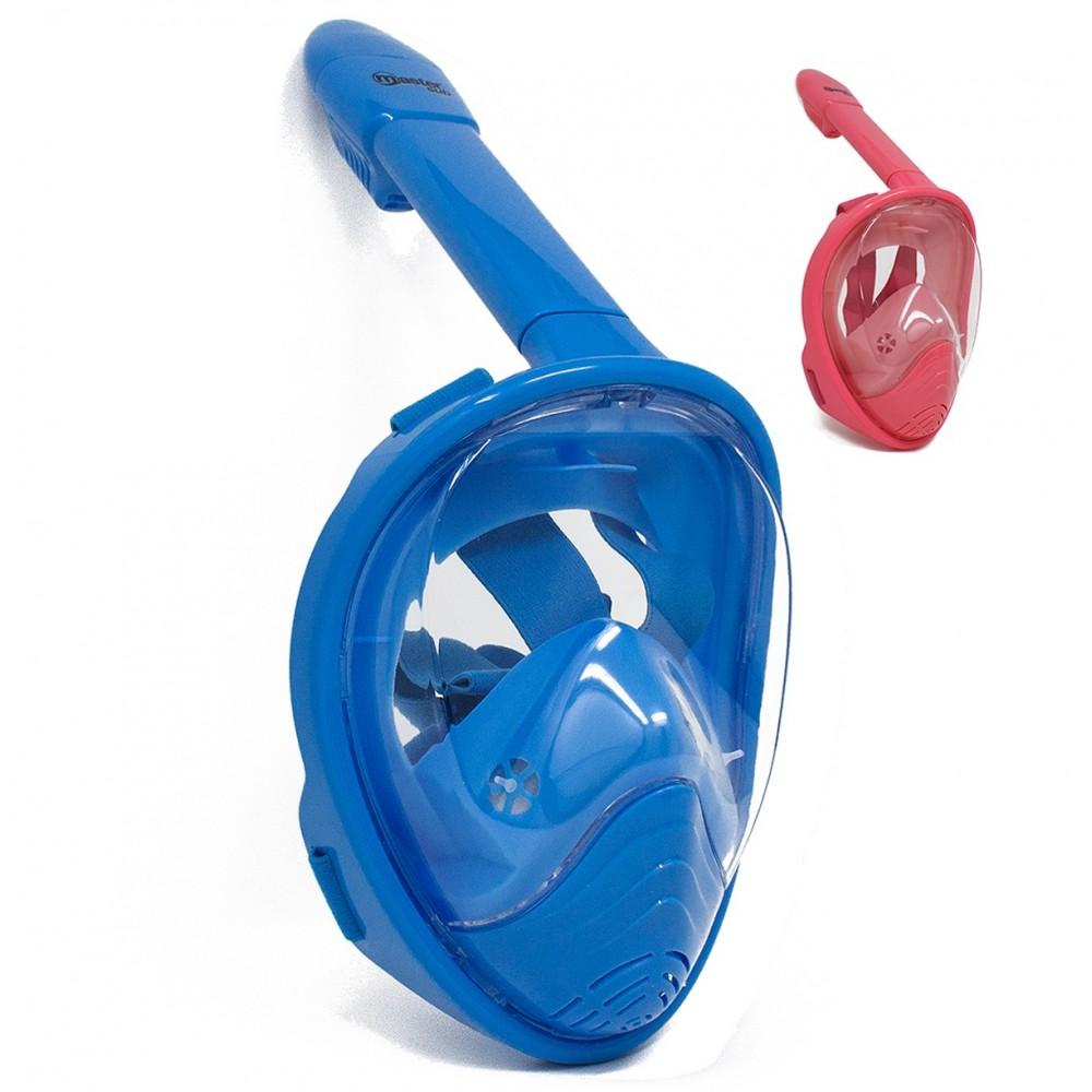 Maschera Subacquea Integrale per Snorkeling Junior