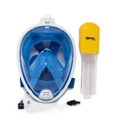 Maschera sub Integrale per Snorkeling Easy Breath