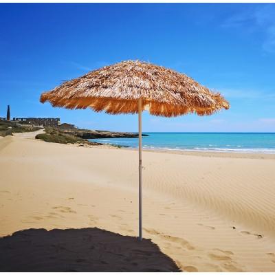 48080 220 Tropicale Cm Mare Stile Rafia Hawaii In Spiaggia Ombrellone Paglia Sintetica uPZiTwOkX