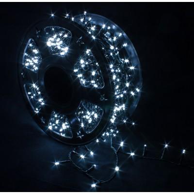 Catena Luminosa 1000 LED Bianco Freddo Interno/Esterno