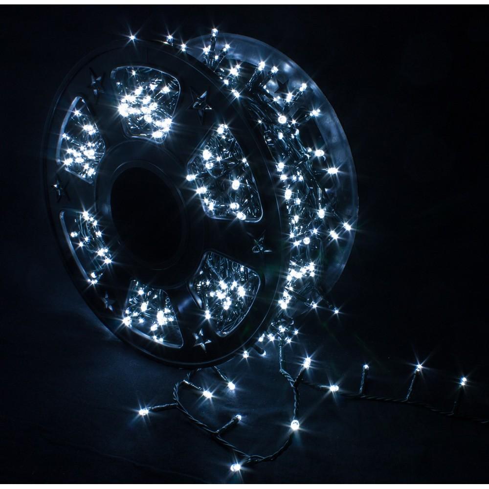 Catena Luminosa Per Foto catena luminosa 1000 led bianco freddo per interno/esterno - ivostore