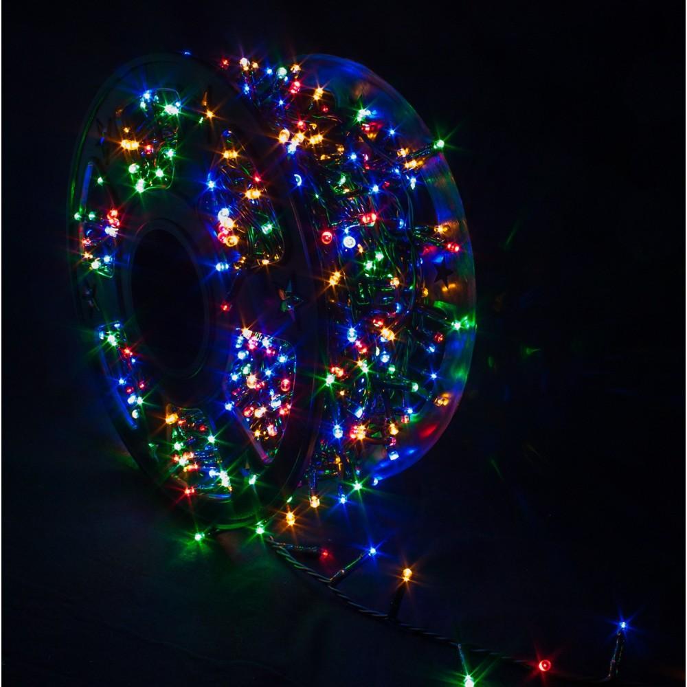 Catena Luminosa 1000 LED Multicolor Interno/Esterno