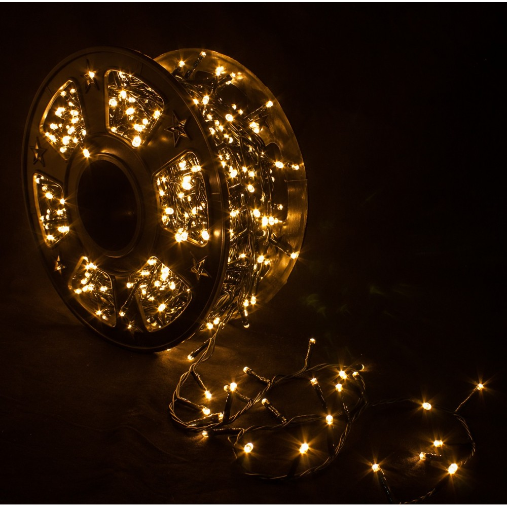 Catena Luminosa Per Foto catena luminosa 2000 led bianco caldo interno/esterno - ivostore