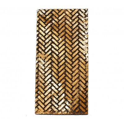 Pannello Sughero Mattoni Lisca di Pesce 25 cm x 12,5 cm