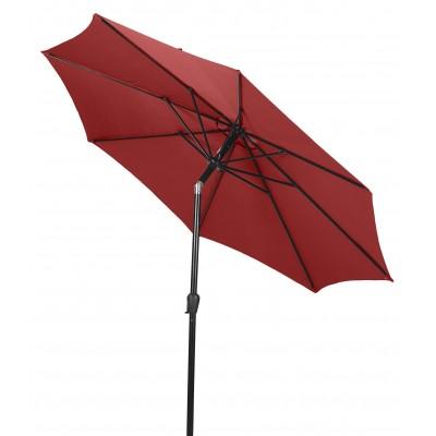 Ombrellone da Giardino Rosso 3 Metri con Manovella Outfit 48933