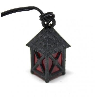 Lanterna Presepe Luce Rossa 2,5 cm